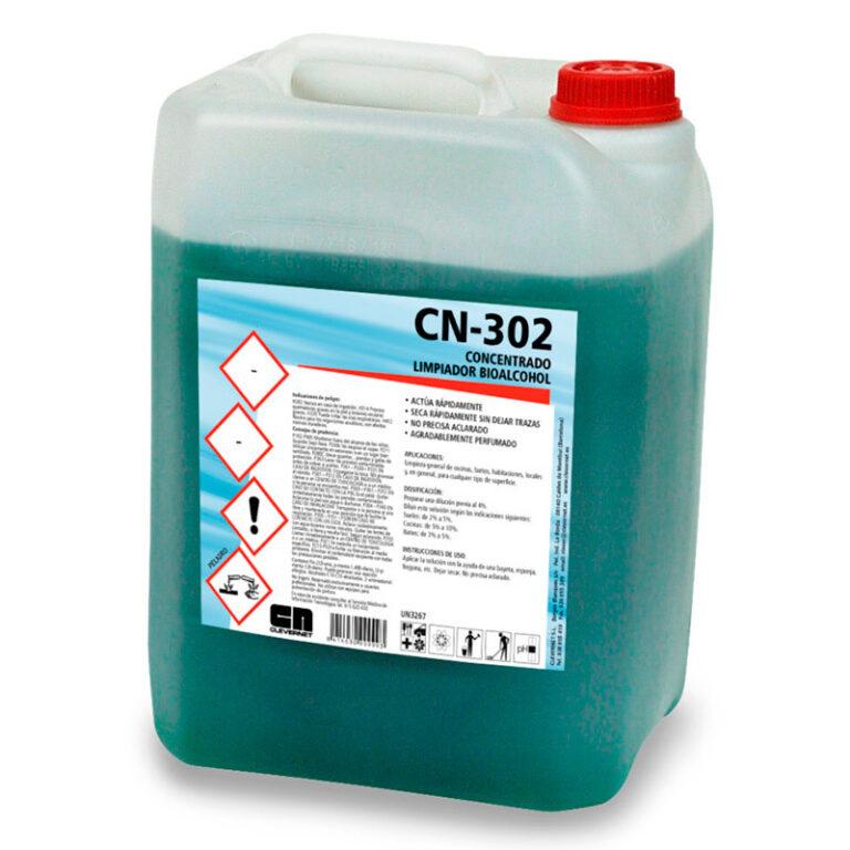 CN-302 Concentrado Limpiador Bioalcohol